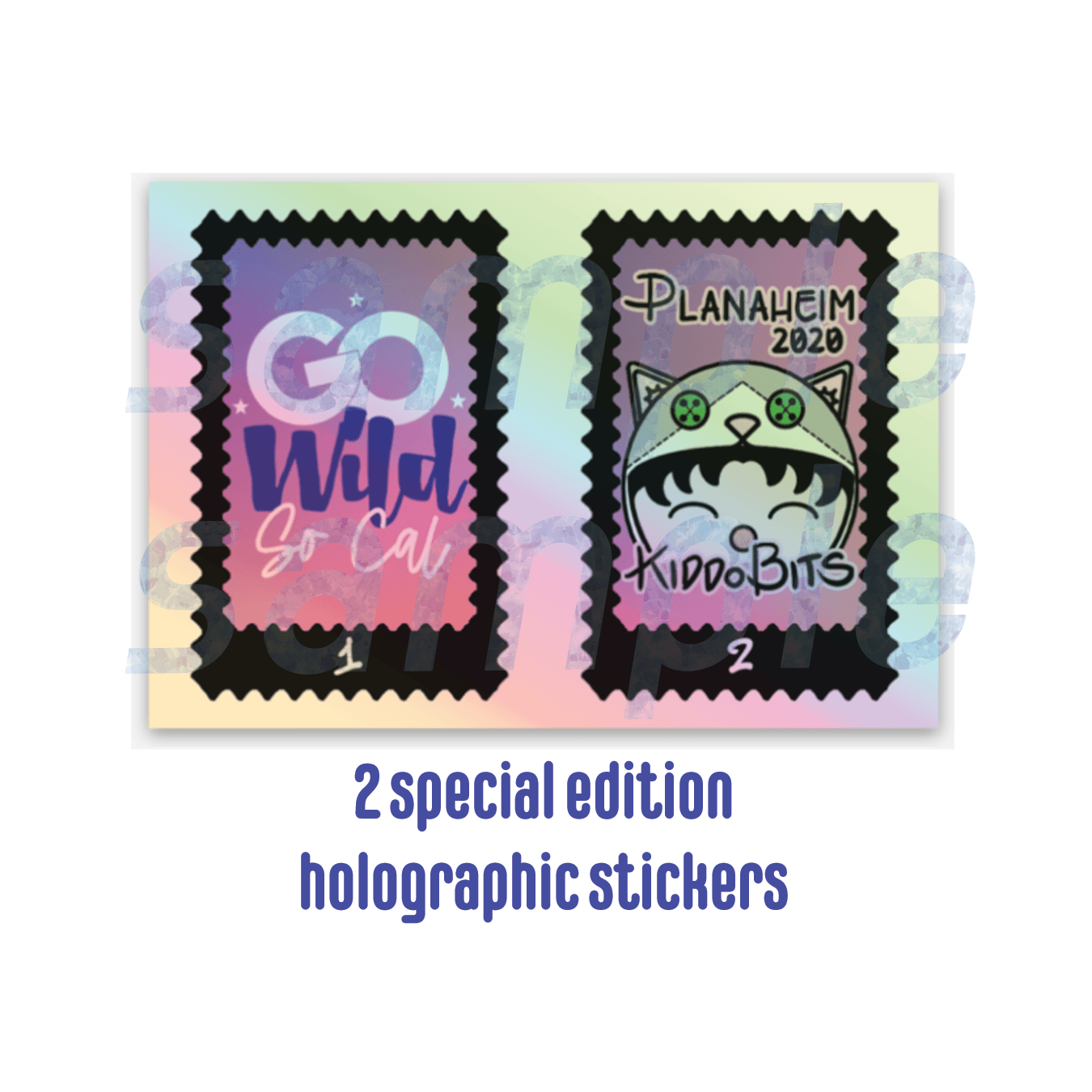 Special Edition Holo Stickers