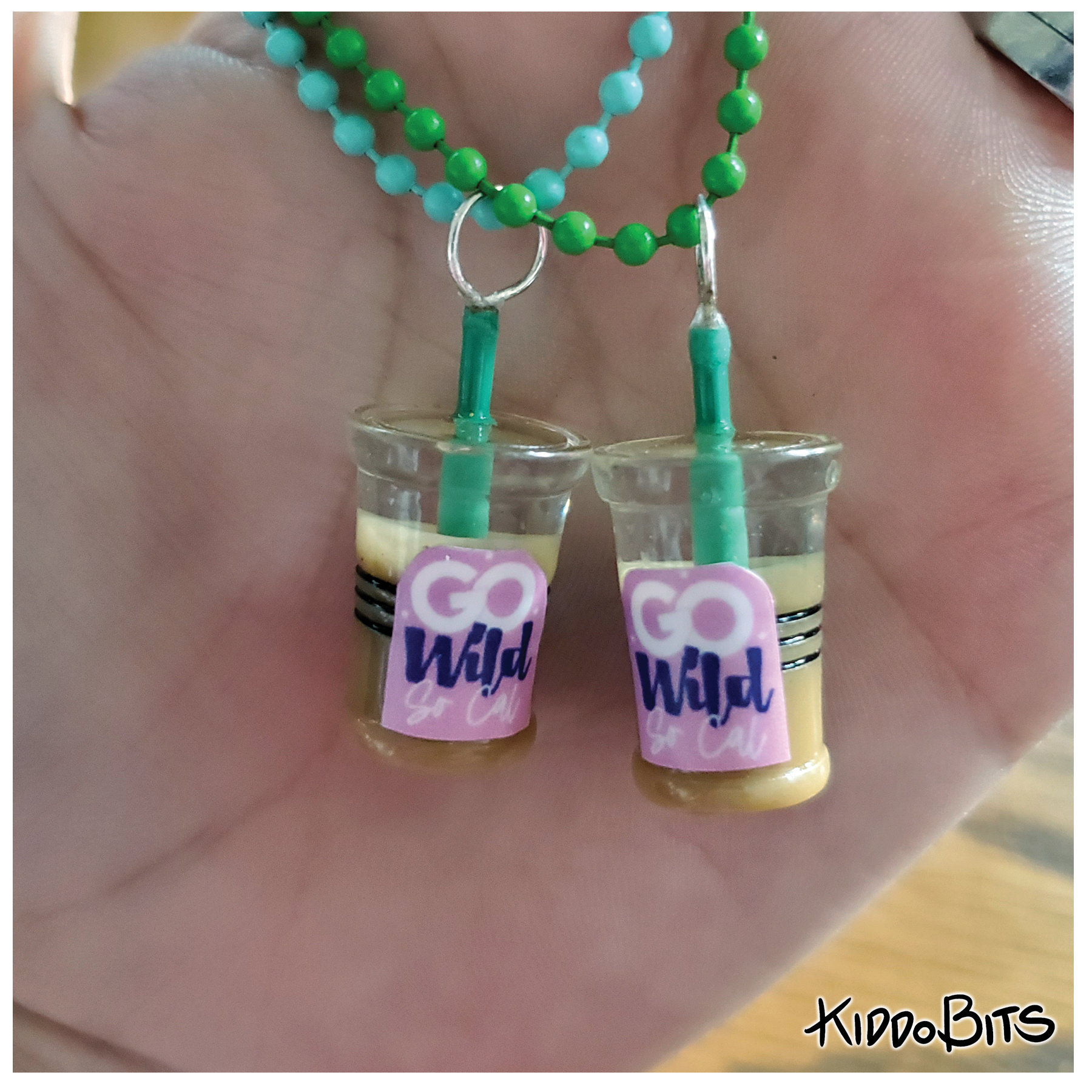 Go Wild Coffee Cup Planner Charm