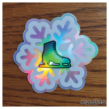 Yuri on Ice Snowflake holo sticker